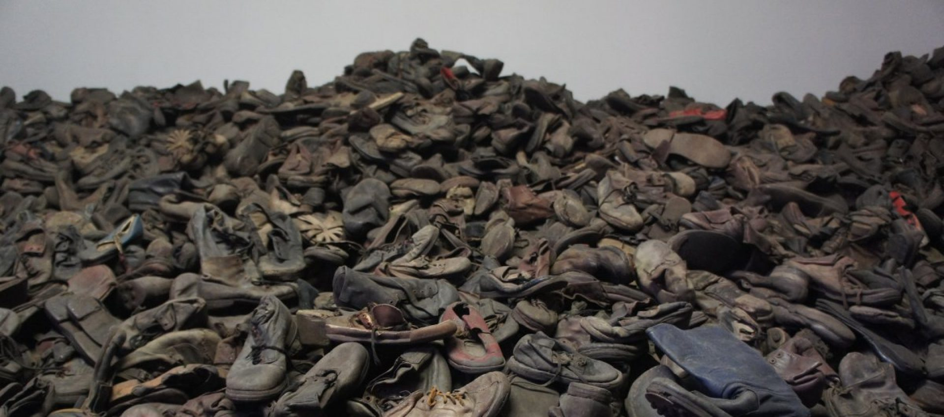Part of the constant exhibition in Auschwitz.